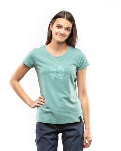 Chillaz Gandia Lettering Bus T-Shirt Damen