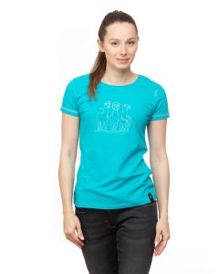 Chillaz Gandia Alpaca Gang T-Shirt Damen türkis