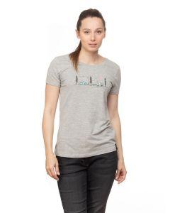 Chillaz Gandia Chill Outside T-Shirt Damen grau