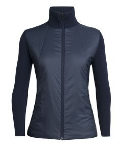 Icebreaker Lumista Hybrid Sweater Jacket Damen