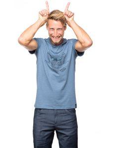 Chillaz Rock Hero T-Shirt Herren blau