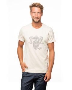 Chillaz Retro Rock Hero T-Shirt Herren beige