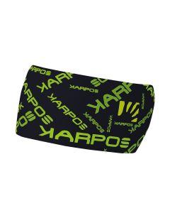 Karpos PELMO HEADBAND schwarz grün