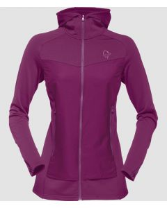 Norrona Warm2 Stretch Zip Hoody Damen