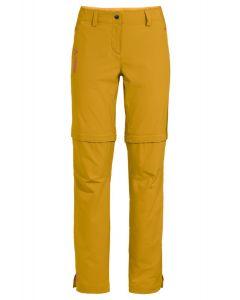 Vaude Skomer ZipOff Pants II Damen gelb