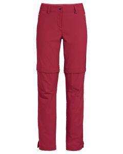 Vaude Skomer ZipOff Pants II Damen rot