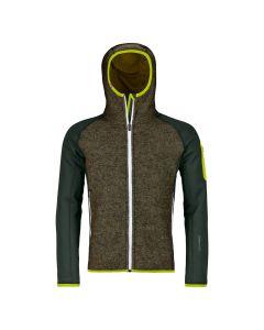 Ortovox FLEECE  Plus Classic Knit Hoody Herren green