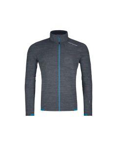 Ortovox Protact Fleece Light Grid Jacket Herren schwarz