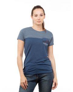 Chillaz Street  T-Shirt Damen blau