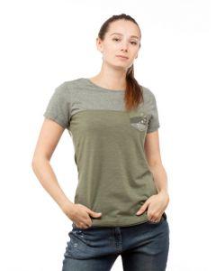 Chillaz Street  T-Shirt Damen grün