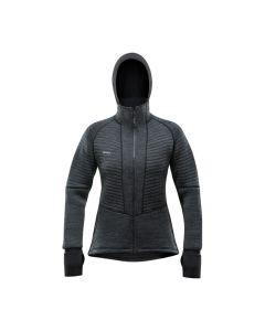 Devold TINDEN SPACER Hood Jacket Damen grau