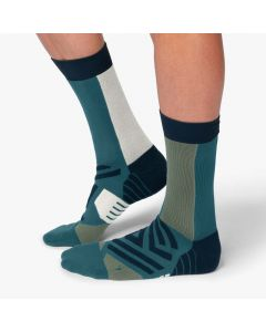 On High Sock Herren blau grün