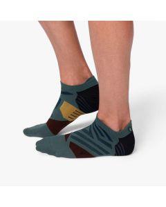 On Low Sock Herren dunkelgrau