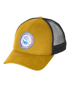 Ortovox STAY IN SHEEP TRUCKER CAP Gelb