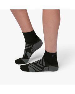 On Mid Sock Damen schwarz