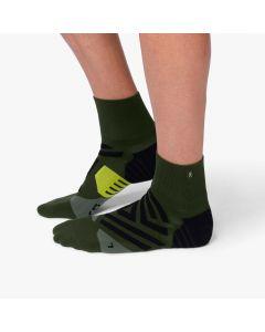 On Mid Sock Herren grün