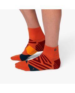 On Mid Sock Herren orange