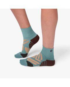 On Mid Sock Damen türkis