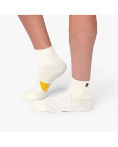 On Mid Sock Damen weiß