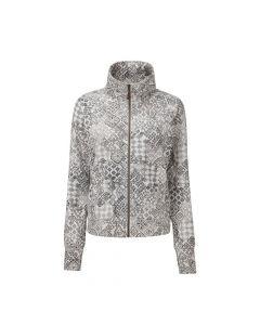 Sherpa Santi Full Zip Jacket Damen grau