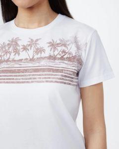 Tentree Tourist Juniper T-Shirt Damen weiß